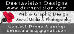 Deenavision Designs–Deena's Digital Portfolio Website